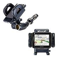一意自動シガレットライターとUSB充電器マウントシステムには調節可能なホルダーfor the Navman ezy30ezy40