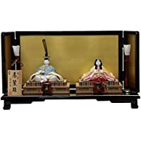 雛人形 平飾り木目込み親王 本金春麗雛1816 幅60cm 3mk23 真多呂 伝統的工芸品