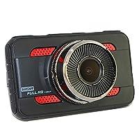 車のカメラ、ドライビングレコーダー亜鉛金属3インチHD 1080 P駐車監視重力検知モーション検知ループビデオ