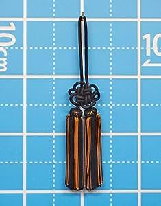 房4寸_黒に茶金筋(国産)(約12~13cm)およそ全長30cm