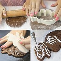 新しいデザインPop販売molyveva 3pcs恐竜形状ビスケットクッキーカッターフォンダンケーキ装飾ベーキング金型ツール