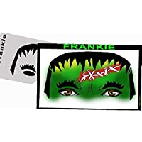 Halloween Face Painting Stencil - StencilEyes Frankie by ShowOffs Body Art