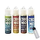 電子タバコ リキッド 輸入 タール ニコチン0 日本製 CHOMO JUICE ( チョモ ジュース ) 60ml 便利なニードルボトル付き (① Hyper Gimlet(ハイパーギムレット))