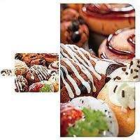 Ploom TECH プルームテック 専用 手帳型ケース お菓子柄 シリーズ 全面印刷 022