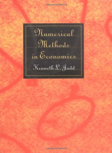 Download Numerical Methods in Economics (The MIT Press) 0262100711