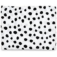 Organic Cotton Muslin Swaddle Blanket (Spots) by Modern Burlap