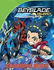 Beyblade Coloring Book: Perfect Coloring Books for Kids and Adults with 40 High Quality Illustrations