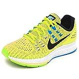 ナイキ レディース ランニングシューズ NIKE エアズームストラクチャー19 フルマラソン ジョギング トレーニング ジム 女性 靴 スポーツAIR ZOOM STRUCTURE 靴/806584 (24.0cm, (300)ゴーストグリーン)