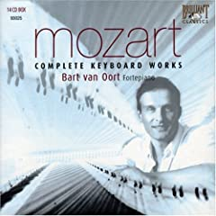 輸入盤 ファン・オールト演奏 Mozart:Complete Keyboard Works(14枚組)の商品写真