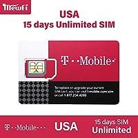 【T-Mobile】アメリカ SIMカード T-Mobile 回線利用 高速データ通信使い放題 USA ハワイ ((15日間高速データ使い放題)