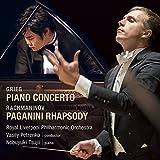 グリーグ:ピアノ協奏曲 イ短調/ラフマニノフ:パガニーニの主題による狂詩曲