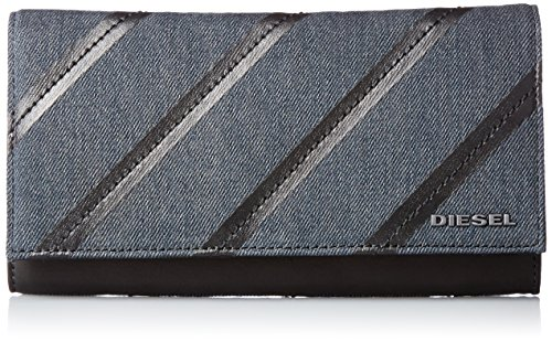 (ディーゼル) DIESEL メンズ 長財布 V-DENIM GROUP 24 A DAY - wallet X04725PR570 H1940 UNI