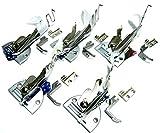 4つ折り ミシン バインダー A10 各サイズ工業 用 職業 用 押さえ 送り歯 付属付 (5個セット)
