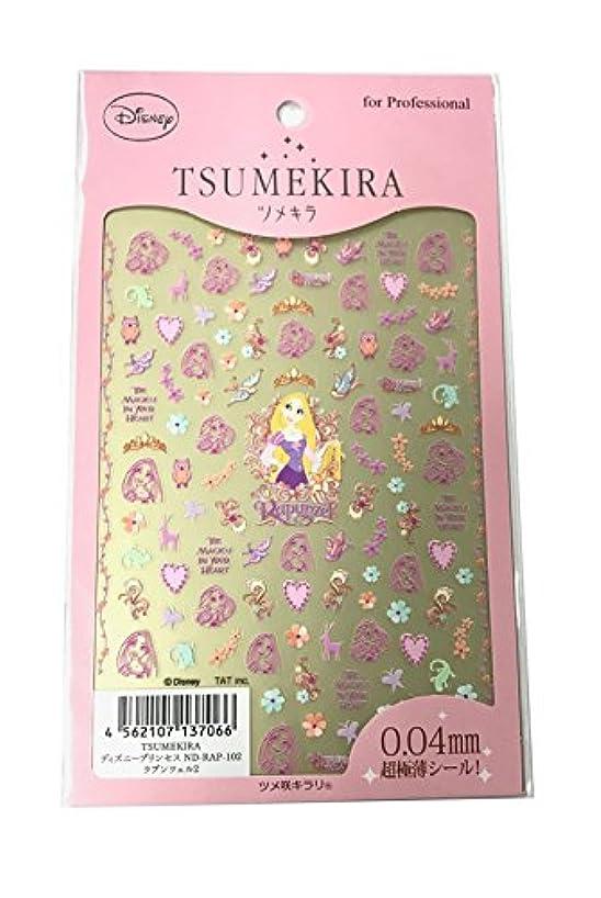 怠けたピンク差し迫ったツメキラ(TSUMEKIRA) ネイル用シール ラプンツェル2 ND-RAP-102