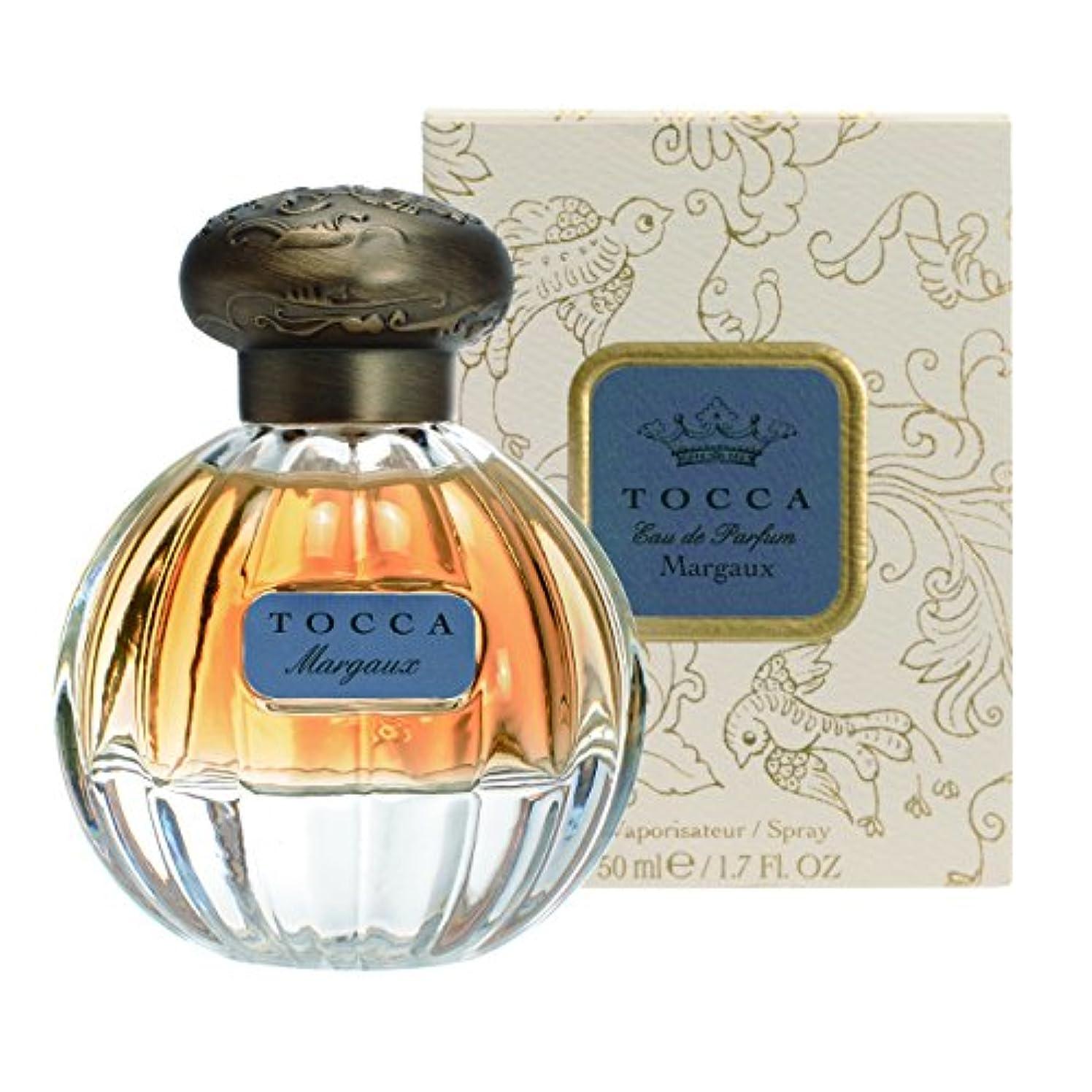 内向きひらめき締め切りトッカ(TOCCA) オードパルファム マルゴーの香り 50ml(香水 永遠の愛を思わせるフローラルとカシミヤウッド、ムスクの甘い温かみにバニラのアクセントが加わった香り)
