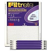 20x 24x 13M Filtrete Ultra Allergenフィルタ1パック