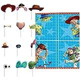 ディズニー トイストーリー 4 誕生日 バーティ グッズ 特大 ウォールポスター シーンセッター フォトブース 変身 写真 飾りつけ 装飾 クリスマス 子供部屋 (並行輸入品)toystory4