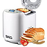 SKG Automatic 2-LB Bread Maker Multi-Functional & User-Friendly (19 ...