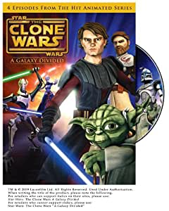 Star Wars: The Clone Wars - A Galaxy Divided [DVD] [Import]