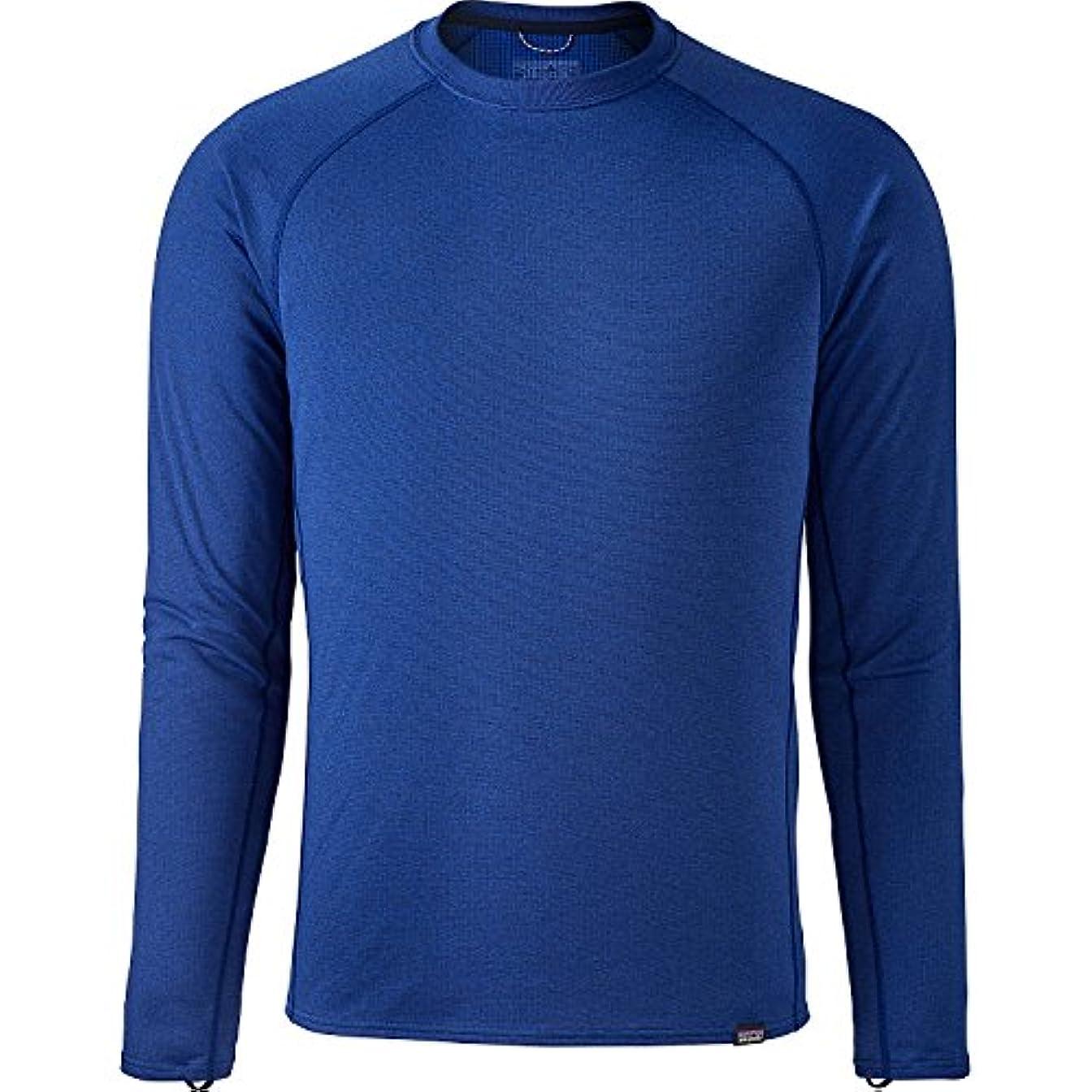 売り手ボランティア水銀のパタゴニア トップス シャツ Mens Cap Midweight Crew Viking Blu [並行輸入品]