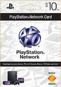 PlayStation Network Card $10 (輸入版:北米)