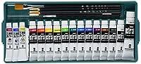 ターナー色彩 水彩絵具 ポスターカラー 13色プライムセットBプラス三原色カラー(水彩絵具)3色セット TS16PMB4 11ml