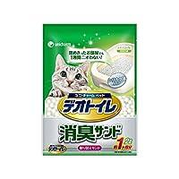デオトイレ 1週間消臭・抗菌デオトイレ 取り替え専用 消臭サンド 2L