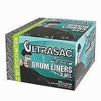 Ultrasac 55Gal。ドラムライナーTrash Bags ( 50Count )