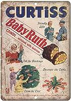 Curtiss Baby Ruth Chocolate Candy Bar ティンサイン ポスター ン サイン プレート ブリキ看板 ホーム バーために
