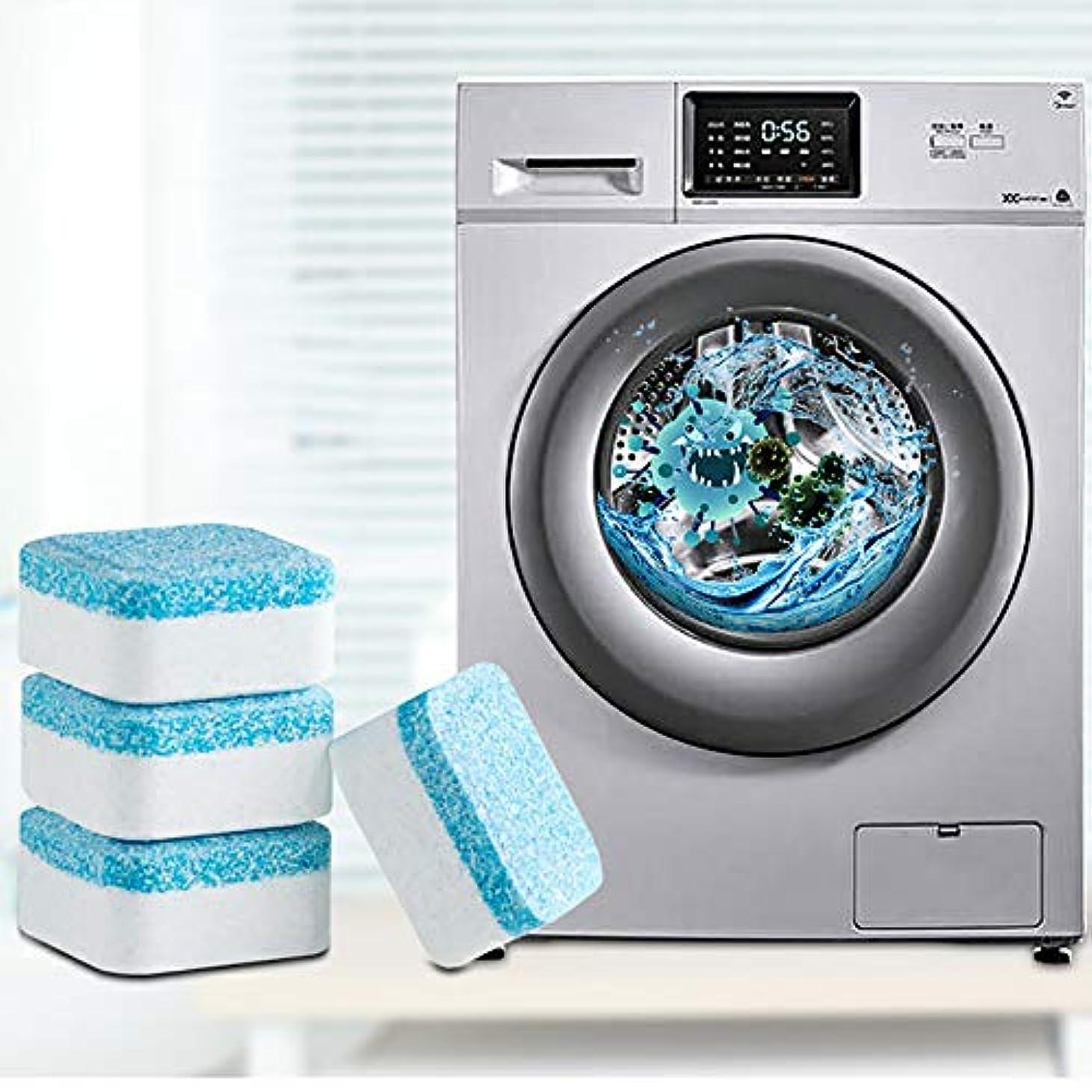 職人経由で落ち着いた12Pcs洗濯機クリーナー、洗濯機発泡錠、クリーナーデスケーラーディープクリーニングリムーバーデオドラント耐久性 (24PCS)