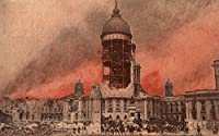 View of city hall後地震 24 x 36 Giclee Print LANT-10060-24x36