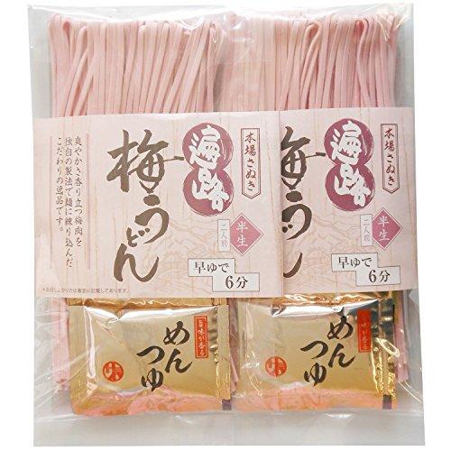 民サ麺業 こだわり風味梅うどん (4食)