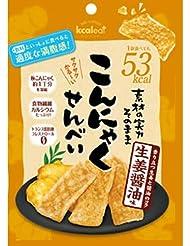 こんにゃくせんべい 生姜醤油 15g (20袋セット) [並行輸入品]