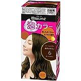 【花王】ブローネ泡カラー 6 ダークブラウン 108ml ×10個セット