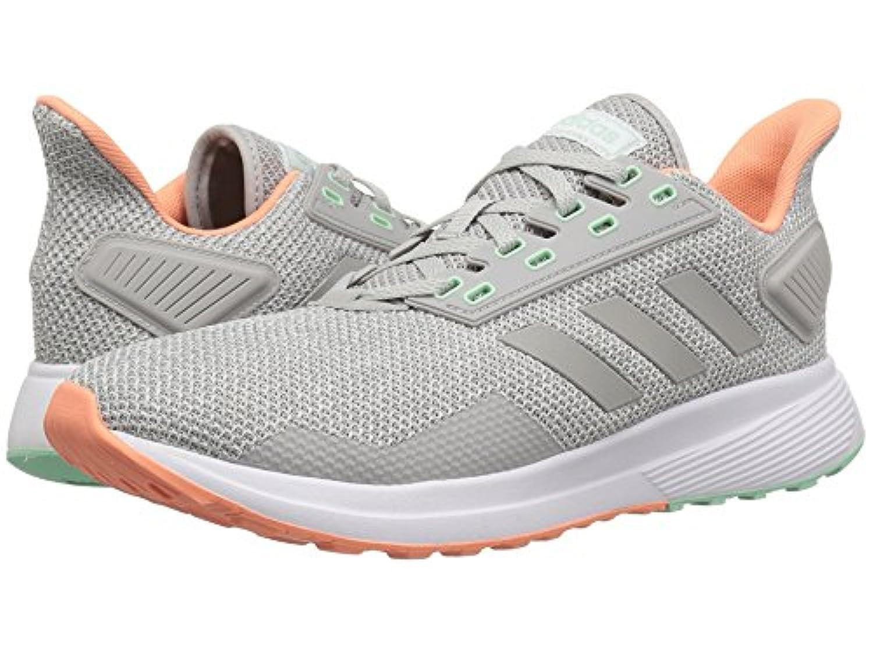 [adidas(アディダス)] レディースランニングシューズ?スニーカー?靴 Duramo 9 Grey Two/Grey Two/Chalk Coral 7.5 (24.5cm) B - Medium