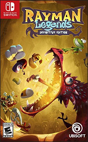 Rayman Legends Definitive Edition - Nintendo Switch - USA.