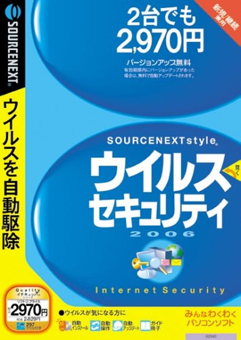 最適アナウンサーエージェントウイルスセキュリティ 2006 2台用 (説明扉付きスリムパッケージ版)