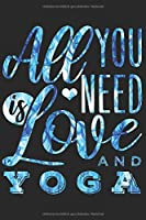 YOGA NOTIZBUCH: Yoga Notizbuch die Perfekte Geschenkidee fuer Wellness oder Yoga Fans. Das Taschenbuch hat 120 weisse Seiten mit Punktraster die dich beim Schreiben oder skizzieren unterstuetzten.