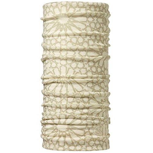 Buff (バフ) 天然メリノウール100% 柔らか肌触り スペイン製 オールシーズンOK 使い方10通り以上 マルチな万能ヘッドウェア 軽量コンパクト 抗菌対応 ネックウォーマー 汗をかいても匂わない チューブ 縫い目なし 吸汗速乾 MERINO WOOL フリーサイズ (TIZNIT CRU) [並行輸入品]