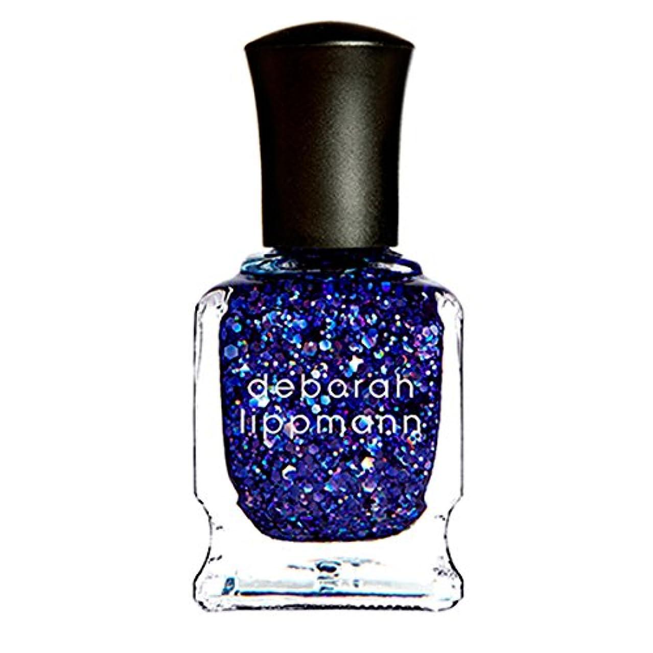 [Deborah Lippmann] [ デボラリップマン] バ?バ?ブーン (ブルーグリッター) / VA VA VOOM 15mL 国内正規品 カラー: ホロとラメが たっぷり入ったブルーグリッター 色系統:青 15mL