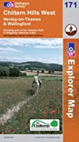 Chiltern Hills West: Henley-on-Thames and Wallingford (OS Explorer Map)
