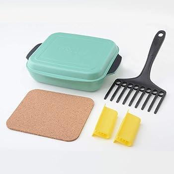 オーブンパン グリエ GRILLE グリーン 1台5役 コンロのグリルやトースターで簡単調理