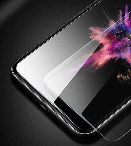 意匠良品【2枚セット】iPhoneXガラスフィルム 透過率99.9% iPhoneXフィルム 指紋防止 気泡なし 高透過率 自動吸着 ラウンドエッジ加工 硬度9H 飛散防止【JAPAN品質安心交換保証付】PFM-1 (1-5 iphoneX, 9H クリア)