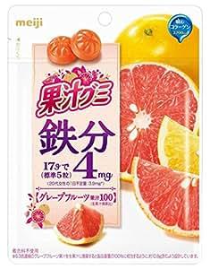 (株)明治 果汁グミ鉄分グレープフルーツ 68g×8袋