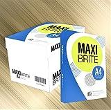 コピー用紙 A4 MAXI BRITE 高白色 紙厚0.09mm 2500枚(500×5)