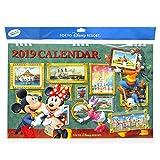 ミッキー&フレンズ 壁掛けカレンダー 2019年 文具 Disney ディズニー お土産【東京ディズニーリゾート限定】
