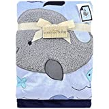 Koala Baby Blue Whale Jumbo Blanket by Triboro Quilt [並行輸入品]