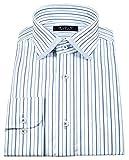 (アーヴェヴェ)a.v.v HOMME メンズワイシャツ スリムフィット ワイドカラー 形態安定 長袖 350-L84