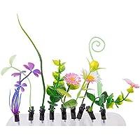 おもちゃ/コスメ・アクセサリー/ヘアアクセサリー ヘアピン 髪飾り 大流行 可愛い 面白い ヘアピンスタイル ギフト 贈り物 10個 植物 花草(ランダム)
