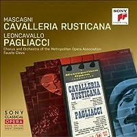 マスカーニ:カヴァレリア・ルスティカーナ、レオンカヴァッロ:道化師 クレヴァ&メトロポリタン歌劇場、リチャード・タッカー、他(1953 モノラル)(2